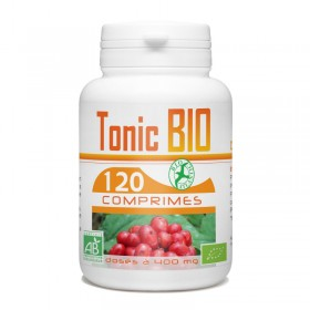 Tonic Bio d'echinacéa, ginkgo biloba et ginseng rouge 120 comprimés Bio atlantic