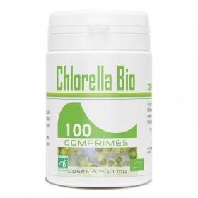 Chlorella Bio dosé à 500mg 100 comprimés Gph Diffusion