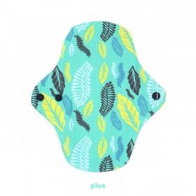 Serviette absorbante taille plus motif plume PLIM x Lamazuna