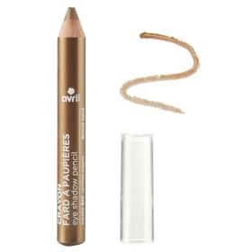 Avril crayon fard à paupières Bronze Nacré certifié bio 2g