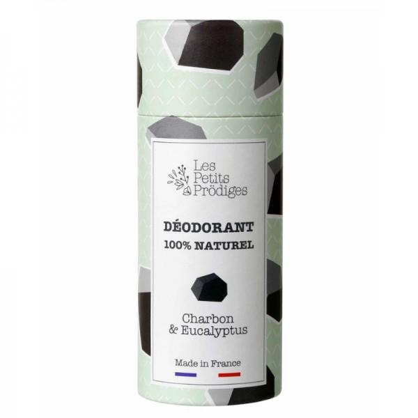 Déodorant Charbon et eucalyptus Les petits prodiges 65g