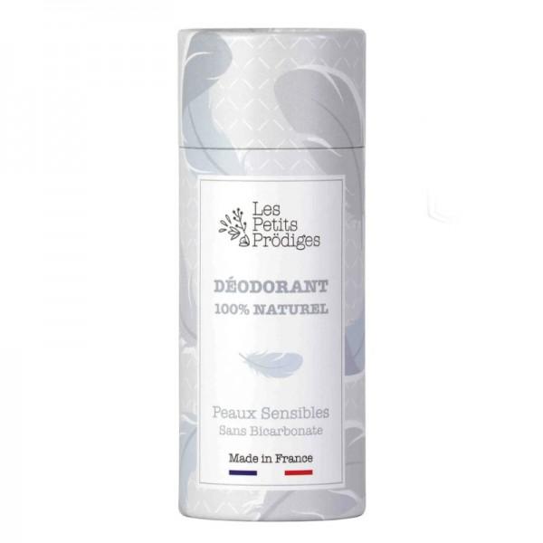 Déodorant Peaux sensibles sans bicarbonate de soude Les petits prodiges 65g