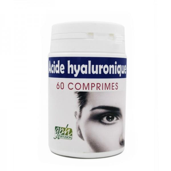 Acide hyaluronique 60 comprimés Gph Diffusion