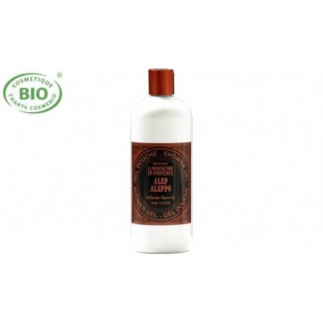 Gel douche Bio au savon d'Alep 750ml  La manufacture en Provence
