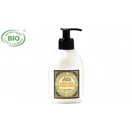 Lait corporel bio vanille miel 300ml  La manufacture en Provence