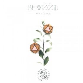 Puce d'oreille Hexagonal Rose BEWOOD